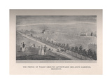 The Prince of Wales Ground (afterwards Irelands Gardens), Brighton, Sussex, 19th century (1912) Giclee Print by George Hunt