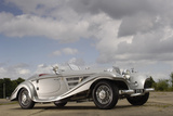 1937 Mercedes Benz 540 k special roadster Photographic Print by Simon Clay
