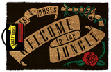 Guns N' Roses - Welcome To The Jungle Door Mat Sjove ting