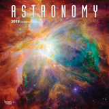 Astronomy - 2018 Calendar Calendários