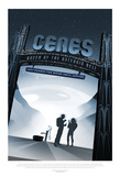 NASA/JPL: Visions Of The Future - Ceres Poster