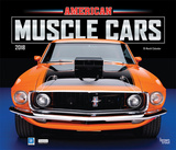 American Muscle Cars Deluxe - 2018 Calendar Calendars