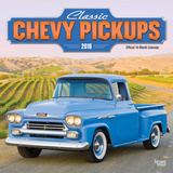 Classic Chevy Pickups - 2018 Calendar Calendars