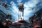 Star Wars Battlefront - War Zone Stampa