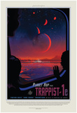 Visions Of The Future - Trappist Print by  NASA