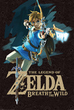 The Legend Of Zelda: Breath Of The Wild - Game Cover Poster