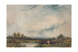 In the Weald of Kent, c1861 Giclee Print by Thomas Creswick