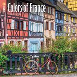 Colors of France - 2018 Calendar Kalenders