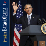 President Barack Obama - 2018 Calendar Calendarios