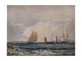 Off Plymouth, c1827 Giclee Print by Samuel Prout