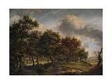 A Woodmans Cottage, 1820 Giclee Print by Patrick Nasmyth