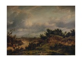 A Rough Road, 1826 Giclee Print by Patrick Nasmyth