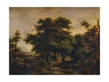 A Woody Landscape, with Figures and Sheep, c1805 Giclee Print by Alexander Nasmyth