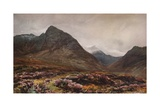 Glen Sannox, Arran, c1871 Giclee Print by James Orrock
