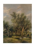 The Willow Stream, c1839 Giclee Print by James Stark