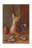 Still Life Hare, c1895 Giclee Print by William Cruikshank
