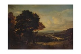 The Valley of the Tweed, c1803 Giclee Print by Patrick Nasmyth