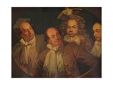 John Reeve as Harry Alias, in One, Two, Three, Four, Five, c1829 Giclee Print by James Northcote