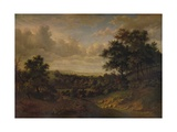 A View of the Thames: Greenwich in the distance, 1820 Giclee Print by Patrick Nasmyth