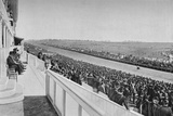 The Derby: View Down The Course, c1903, (1903) Photographic Print by WA Rouch