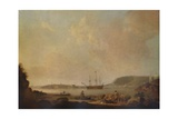 Drakes Island, Plymouth, 1773 Giclee Print by Dominic Serres