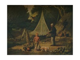The Eel Catcher, 1812 Giclee Print by Edmund Bristow