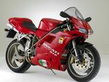 1995 Ducati 916 Fotografisk trykk