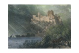 The Ruins of Rheinfels, 1834 Giclee Print by William Radclyffe