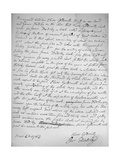 Agreement by Oliver Goldsmith to write for James Dodsley, 31st March 1763., 1899 Giclee Print by Oliver Goldsmith