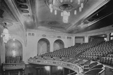 View of the balcony and upper part of the theatre - Regent Theatre, Brighton, Sussex, 1922 Photographic Print