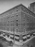 General exterior view, Clemons Brothers Building, Chattanooga, Tennessee, 1923 Photographic Print
