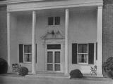 Entrance detail, Creek Club, Locust Valley, New York, 1925 Photographic Print