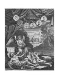 Frontispice, 1724 Giclee Print by Francois Morellon la Cave
