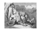 The Seven-League Boots, c1870 Reproduction procédé giclée par Gustave Doré