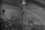 Detail, wall decorations in the gallery, Roosevelt Theatre, Chicago, Illinois, 1925 Photographic Print