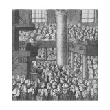 Sleepy Congregation, 1785 Giclee Print by John Kay