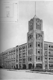 Detail of tower and typical floor plan, AM Creighton Building, Lynn, Massachusetts, 1923 Photographic Print