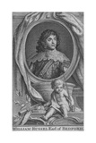 William Russel Earl of Bedford, c1742 Giclee Print by Jacobus Houbraken