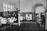 Interior of a ward in the Rigshospitalet (National Hospital), Copenhagen, Denmark, 1922 Photographic Print