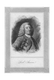 Lord Anson, 1762 Giclee Print by Henry Adlard