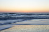 Churning Waves Crash onto the Shores of Pea Island Photographic Print by Robbie George