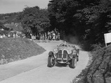 Frazer-Nash BMW 319 - 55 of CG Fitt competing in the VSCC Croydon Speed Trials, 1937 Photographic Print by Bill Brunell