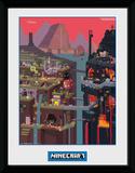 Minecraft - World Stampa del collezionista