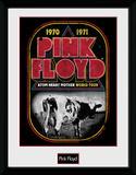Pink Floyd - Atom Heart World Tour Lámina de coleccionista