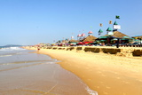 View of Candolim Beach in Goa, India Photographic Print by Jill Schneider