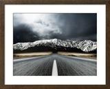 Route dégagée Photographie encadrée par  PhotoINC