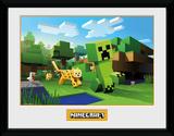 Minecraft - Ocelot Chase Stampa del collezionista