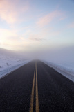 A Clear Roadway Leads to an Unknown Destination Photographic Print by Robbie George