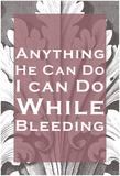 While Bleeding Láminas