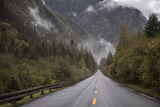 A Road in Jiuzhaigou Nature Reserve and National Park Located in China Photographic Print by Ami Vitale